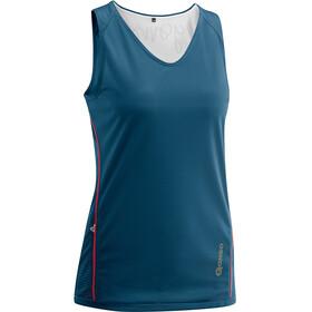 Gonso Impa Mouwloof Fietsshirt Dames blauw